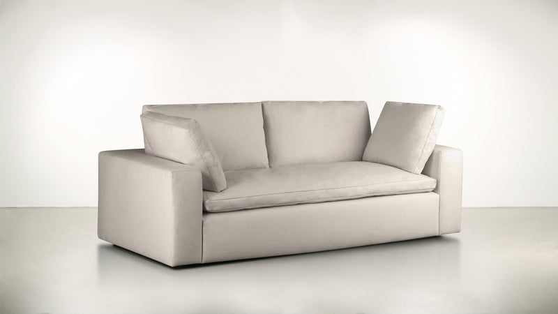 The Freelancer Sofa 5' Sofa Fine Linen Weave Sand Whom. Home