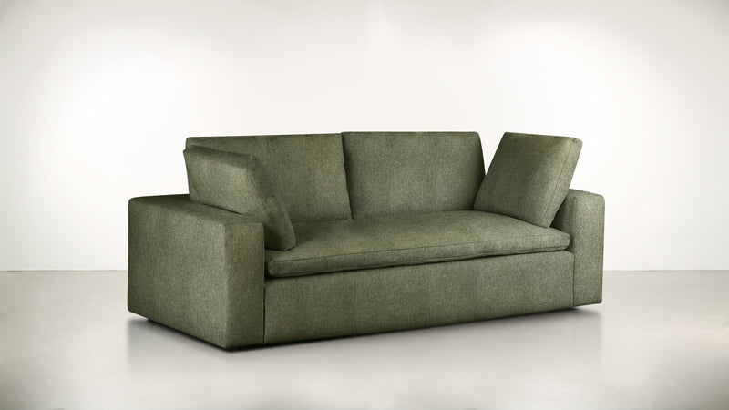 The Freelancer Sofa 5' Sofa Lightweight Micro-Chenille Avocado Whom. Home