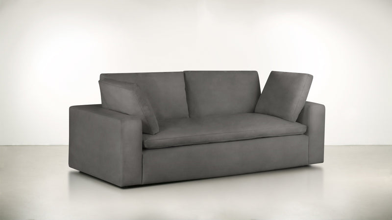 The Freelancer Sofa 5' Sofa Velvet Knit Ash Whom. Home