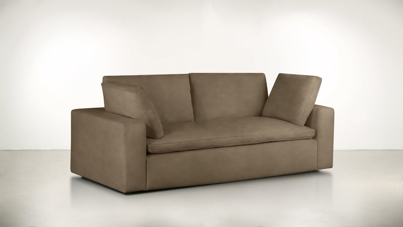 The Freelancer Sofa 5' Sofa Velvet Knit Mondo Whom. Home