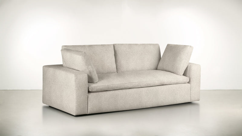 The Freelancer Sofa 6' Sofa Lightweight Micro-Chenille Sand Whom. Home