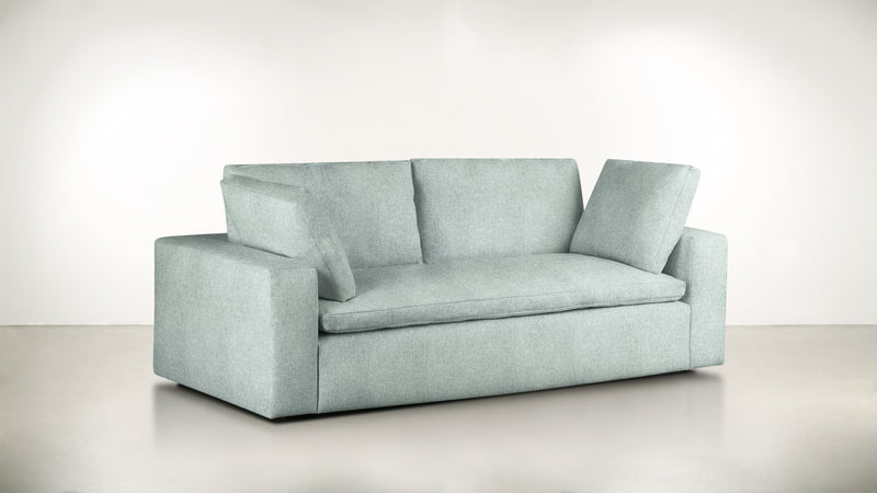 The Freelancer Sofa 7' Sofa Lightweight Micro-Chenille Spa Whom. Home
