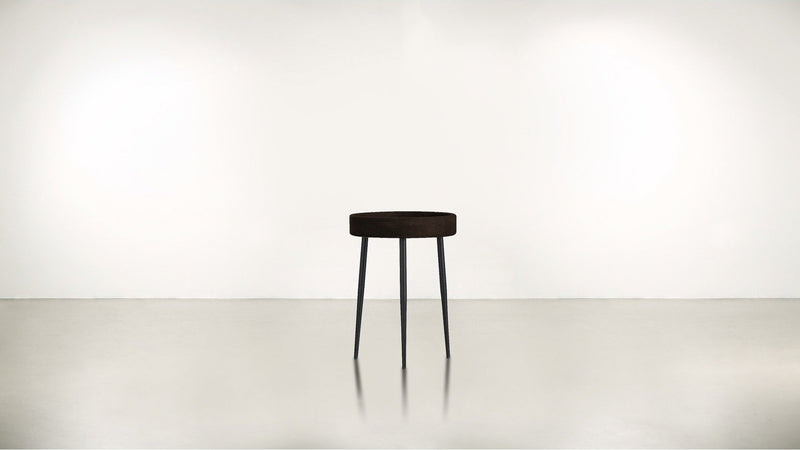 The Good Timer Side Table Side Table Chocolate / Black Whom. Home