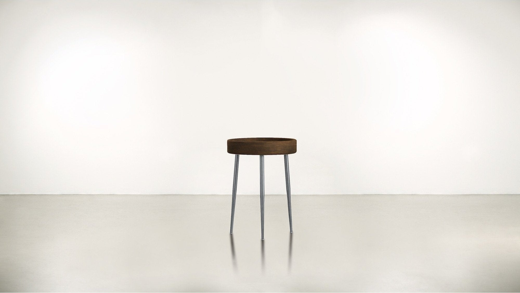 The Good Timer Side Table Hazel / Silver Whom. Home