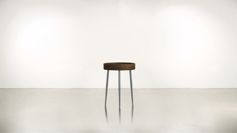 The Good Timer Side Table Side Table Hazel / Silver Whom. Home