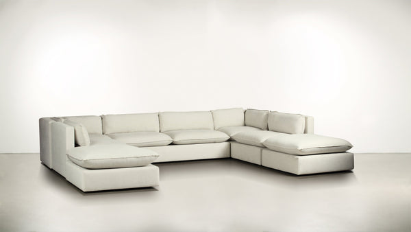 The Oracle Modular Sectional Sofa Modular Sectional Fine Linen Weave Cotton Whom. Home