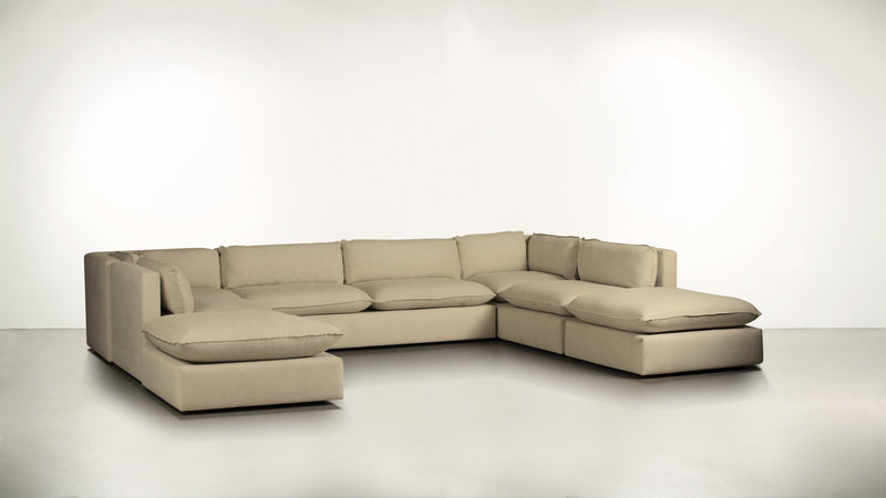 The Oracle Modular Sectional Modular Sectional Fine Linen Weave Sand Whom. Home