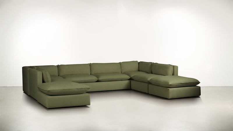 The Oracle Modular Sectional Modular Sectional Lightweight Micro-Chenille Avocado Whom. Home
