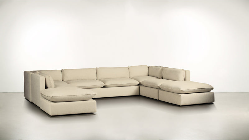 The Oracle Modular Sectional Modular Sectional Lightweight Micro-Chenille Sand Whom. Home