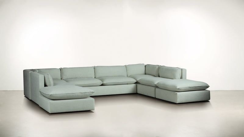 The Oracle Modular Sectional Modular Sectional Lightweight Micro-Chenille Spa Whom. Home