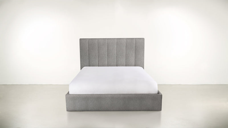 The Maximalist Cal King Cal King Classic Linen Weave Smoke Whom. Home