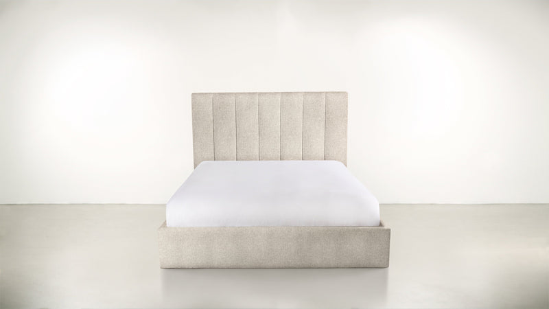 The Maximalist Queen Bed Queen Bed Lightweight Micro-Chenille Sand Whom. Home