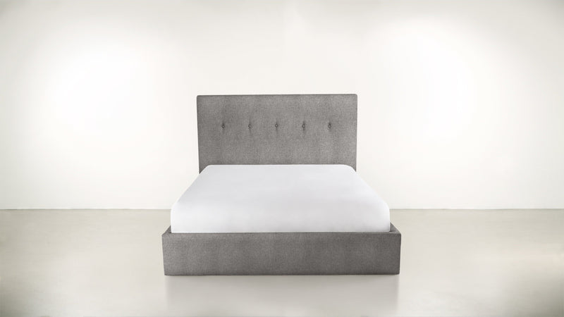 The Orchestrator Cal King Cal King Structured Linen Weave Steel Whom. Home