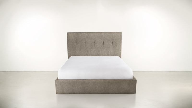 The Orchestrator Cal King Cal King Structured Linen Weave Taupe Whom. Home