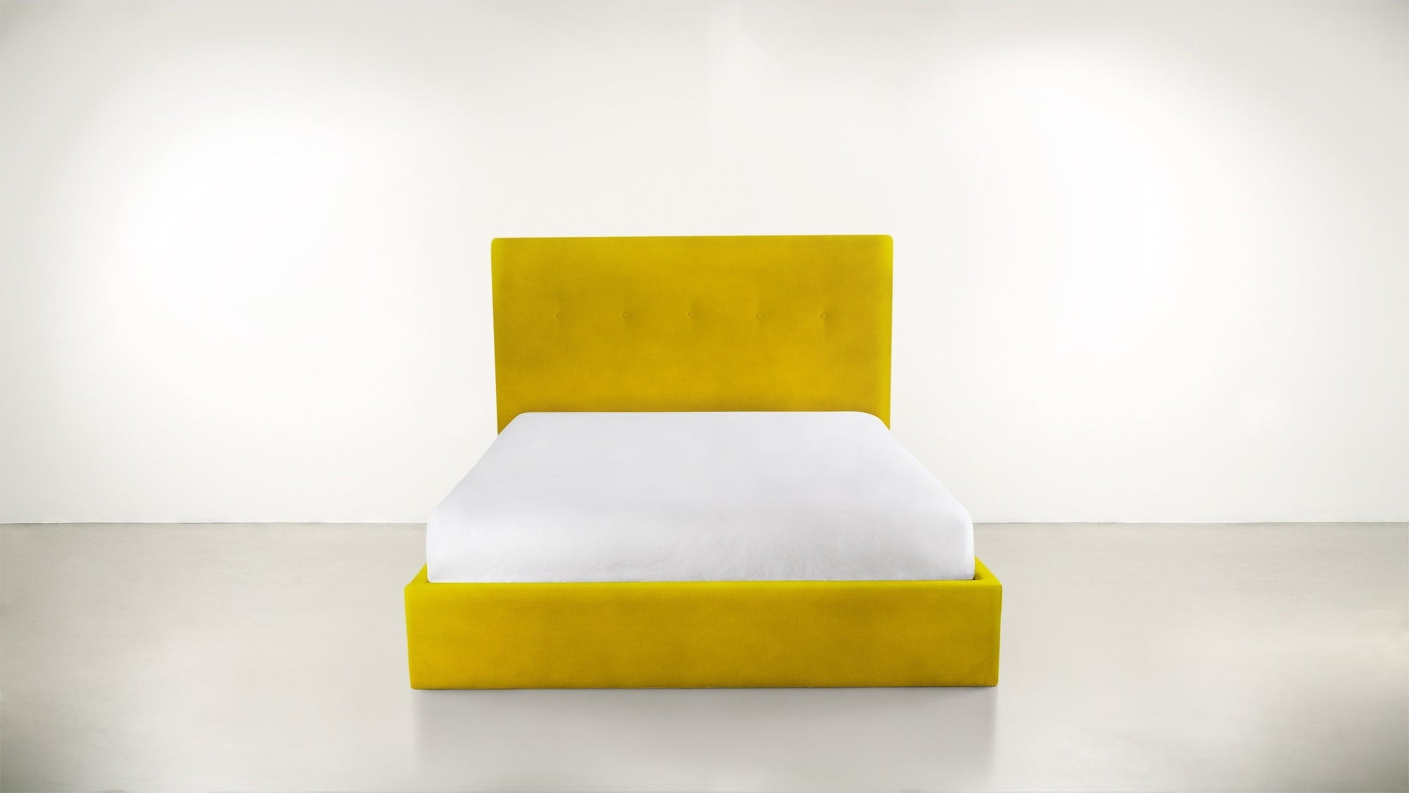 The Orchestrator Queen Bed Queen Bed Velvet Knit Marigold Whom. Home