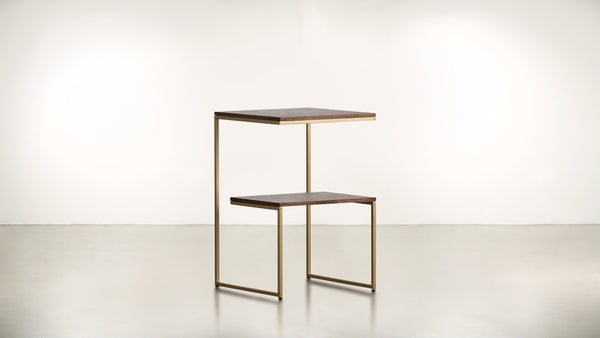 The Overachiever Side Table Side Table Brass / Hazel Whom. Home