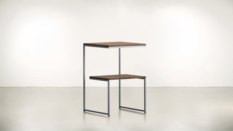 The Overachiever Side Table Side Table Silver / Hazel Whom. Home
