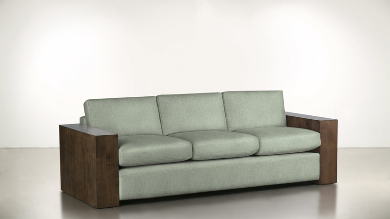 The Philosopher Sofa 6' Sofa Lightweight Micro-Chenille Spa / Hazel Whom. Home