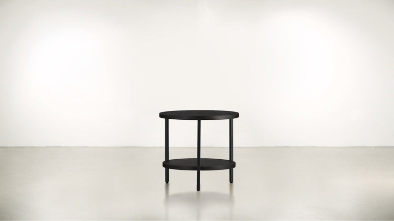 The Pluralist Side Table Side Table Black / Chocolate Whom. Home