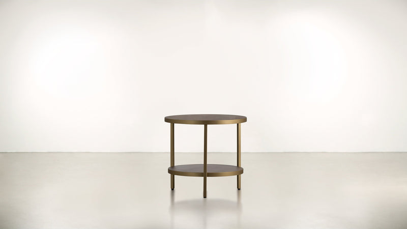 The Pluralist Side Table Side Table Brass / Hazel Whom. Home