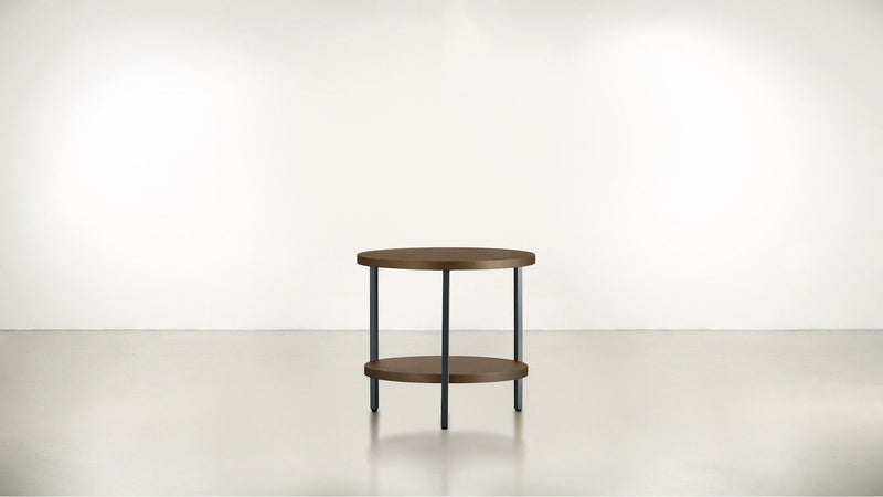 The Pluralist Side Table Side Table Silver / Hazel Whom. Home
