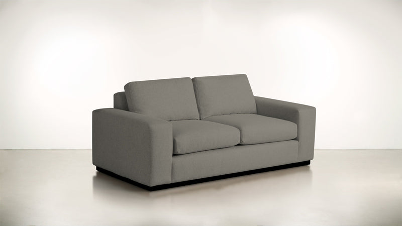 The Pragmatist Sofa 5' Sofa Boucle Knit Ash / Blackw Whom. Home