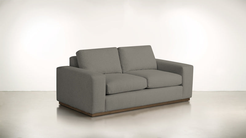 The Pragmatist Sofa 5' Sofa Boucle Knit Ash / Hazel Whom. Home