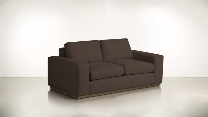 The Pragmatist Sofa 5' Sofa Boucle Knit Chocolate / Hazel Whom. Home