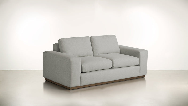 The Pragmatist Sofa 5' Sofa Boucle Knit Platinum / Hazel Whom. Home