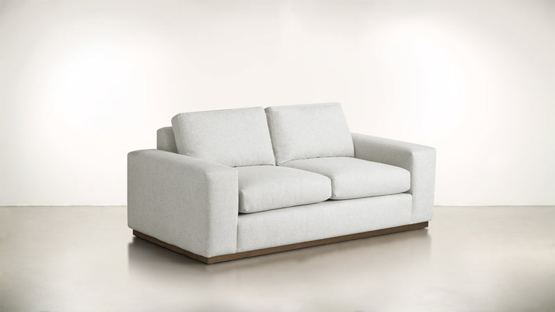 The Pragmatist Sofa 5' Sofa Boucle Knit Snow / Hazel Whom. Home