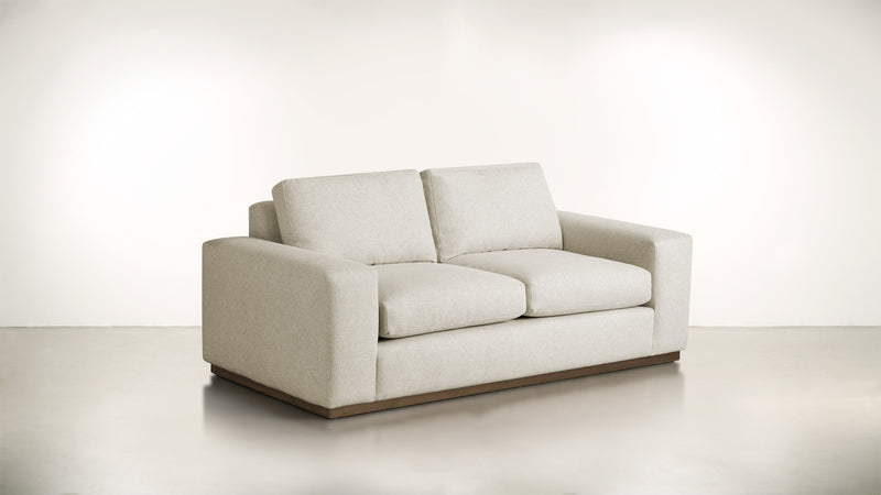 The Pragmatist Sofa 5' Sofa Lightweight Micro-Chenille Sand / Hazel Whom. Home