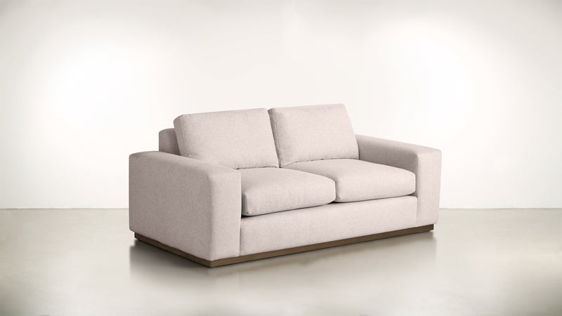 The Pragmatist Sofa 5' Sofa Soft Heathered Weave Blush / Hazel Whom. Home