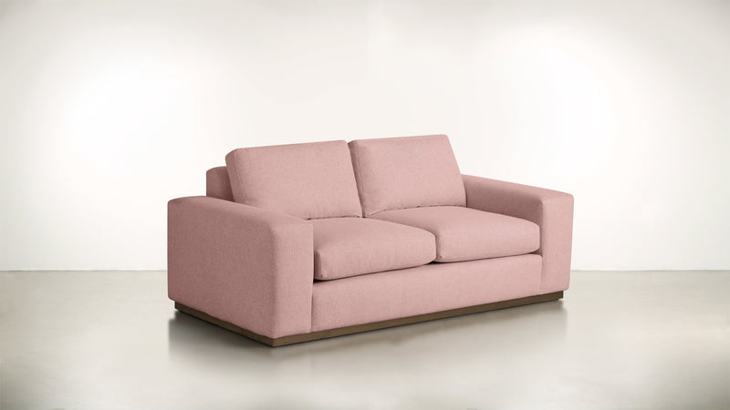 The Pragmatist Sofa 5' Sofa Velvet Knit Blush / Hazel Whom. Home