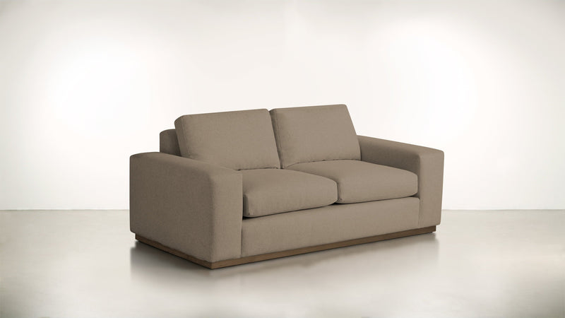 The Pragmatist Sofa 5' Sofa Velvet Knit Mondo / Hazel Whom. Home