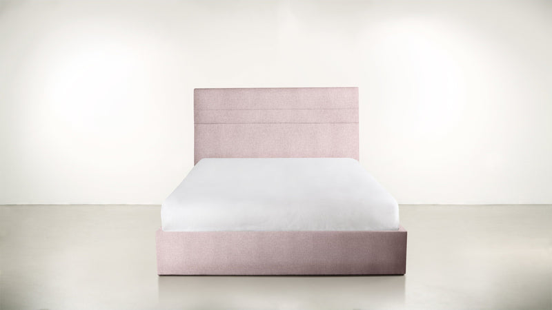 The Prophetess Queen Bed Queen Bed Classic Linen Weave Blush Whom. Home