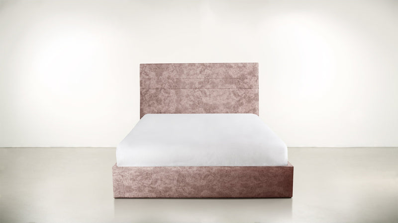 The Prophetess Queen Bed Queen Bed Crushed Micro-Chenille Blush Whom. Home