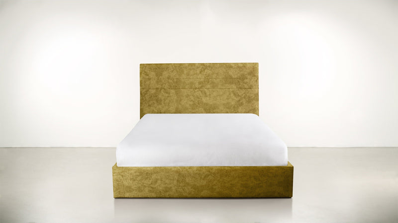 The Prophetess Queen Bed Queen Bed Crushed Micro-Chenille Dijon Whom. Home