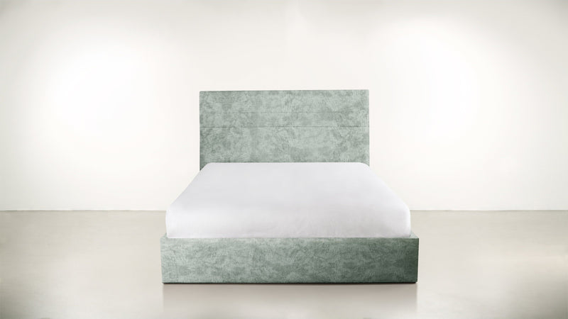 The Prophetess Queen Bed Queen Bed Crushed Micro-Chenille Mint Whom. Home