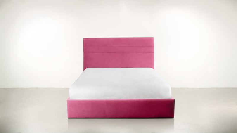 The Prophetess Queen Bed Queen Bed Structured Velvet Flamingo Whom. Home