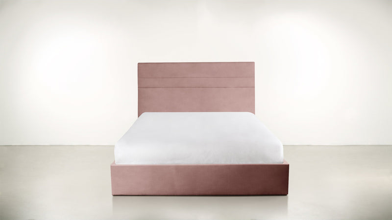 The Prophetess Queen Bed Queen Bed Velvet Knit Blush Whom. Home