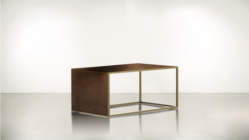 The Radicalist Coffee Table Coffee Table Hazel / Brass Whom. Home