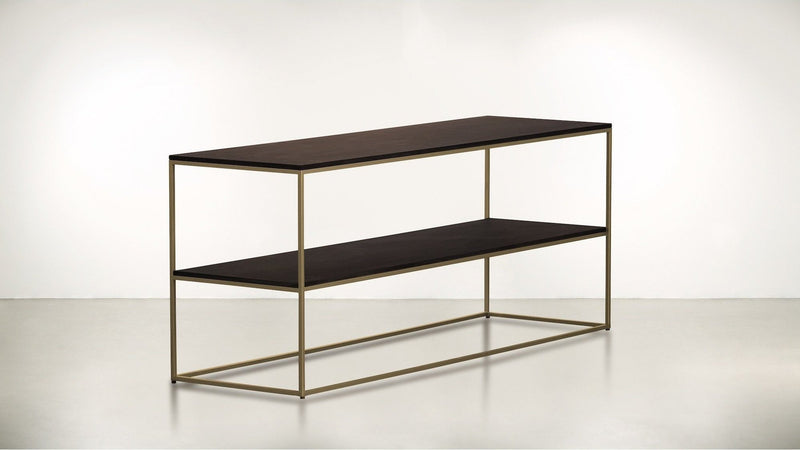The Rationalist Console Console Brass / Chocolate Whom. Home