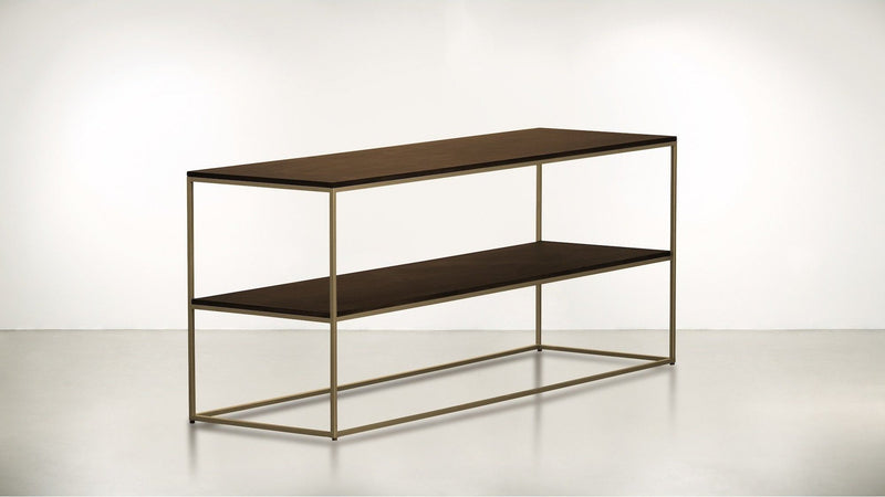 The Rationalist Console Console Brass / Hazel Whom. Home