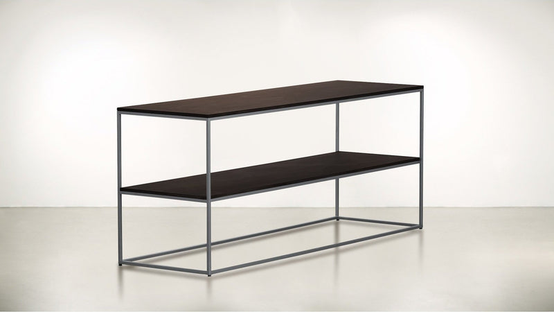 The Rationalist Console Console Silver / Chocolate Whom. Home