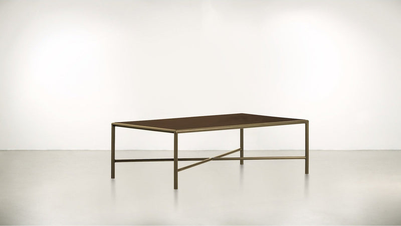 The Realist Coffee Table Coffee Table Hazel / Brass Whom. Home