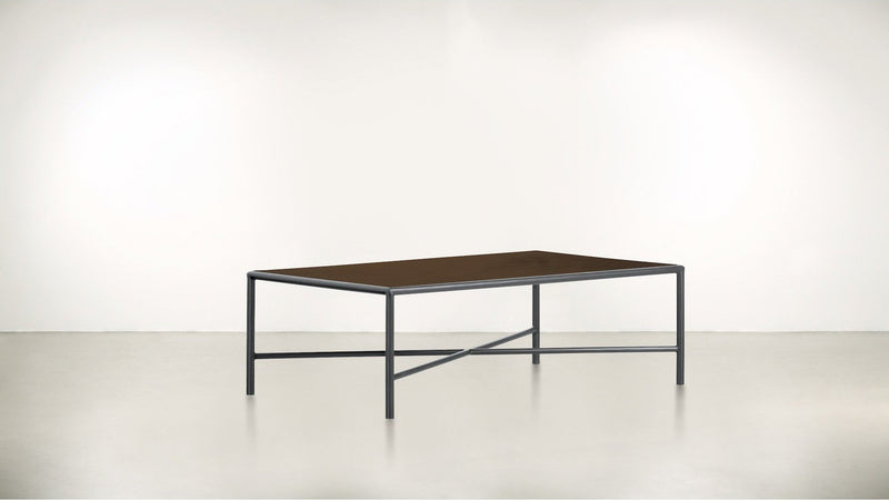 The Realist Coffee Table Coffee Table Hazel / Silver Whom. Home