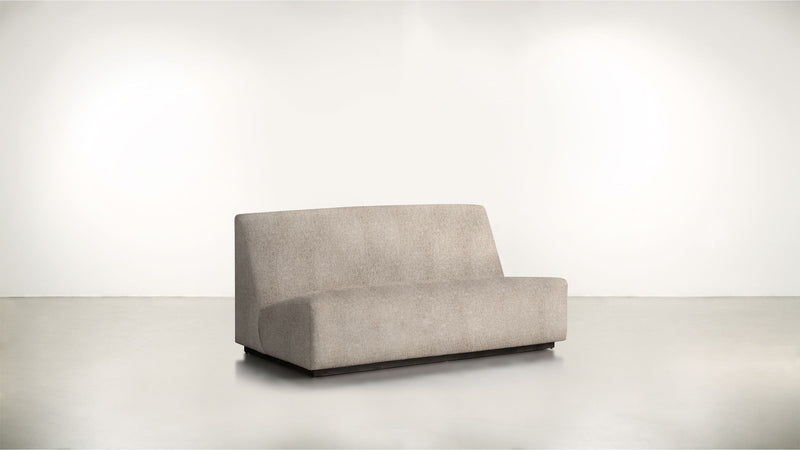 The Rebel Sofa 6' Sofa Structured Linen Weave Sand / Blackw Whom. Home