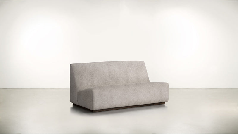 The Rebel Sofa 6' Sofa Classic Linen Weave Almond / Chocolate Whom. Home