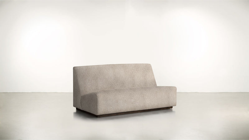 The Rebel Sofa 6' Sofa Structured Linen Weave Sand / Chocolate Whom. Home