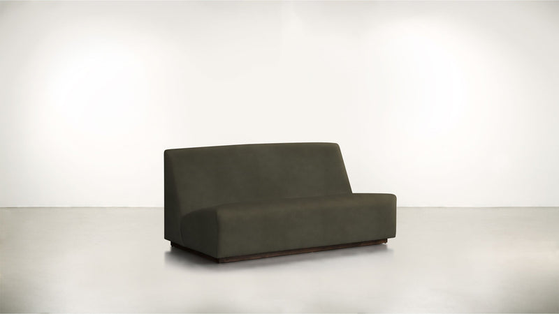 The Rebel Sofa 6' Sofa Structured Velvet Malachite / Chocolate Whom. Home